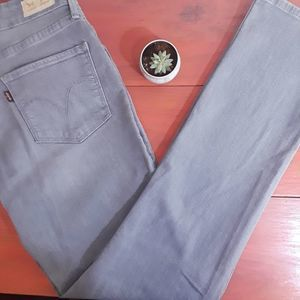 Levi's Mid Rise Skinny | Gray | Size 10